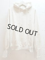 SUGARHILL(シュガーヒル)CRUSHED HOODIE 19AWSW02(WHT)