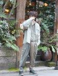 画像9: SUGARHILL(シュガーヒル)RANDOM CHAMBRAY JUMP SUIT 20SSJP01(KHAKI)