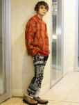 画像7: children of the discordance(チルドレンオブザディスコーダンス) VINTAGE BANDANA PATCH PANTS COTDPT-332(BLK)
