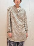 画像5: Varde77(バルデ77) JACQUARD SEMI LONG SHIRTS VR21SS-SD-SR04